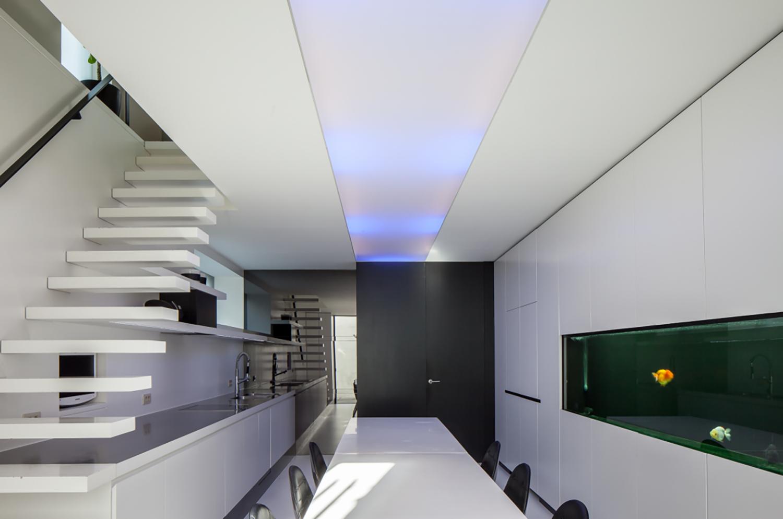 Moderne Keukens Gent : Moderne keuken architect lineos vantornout