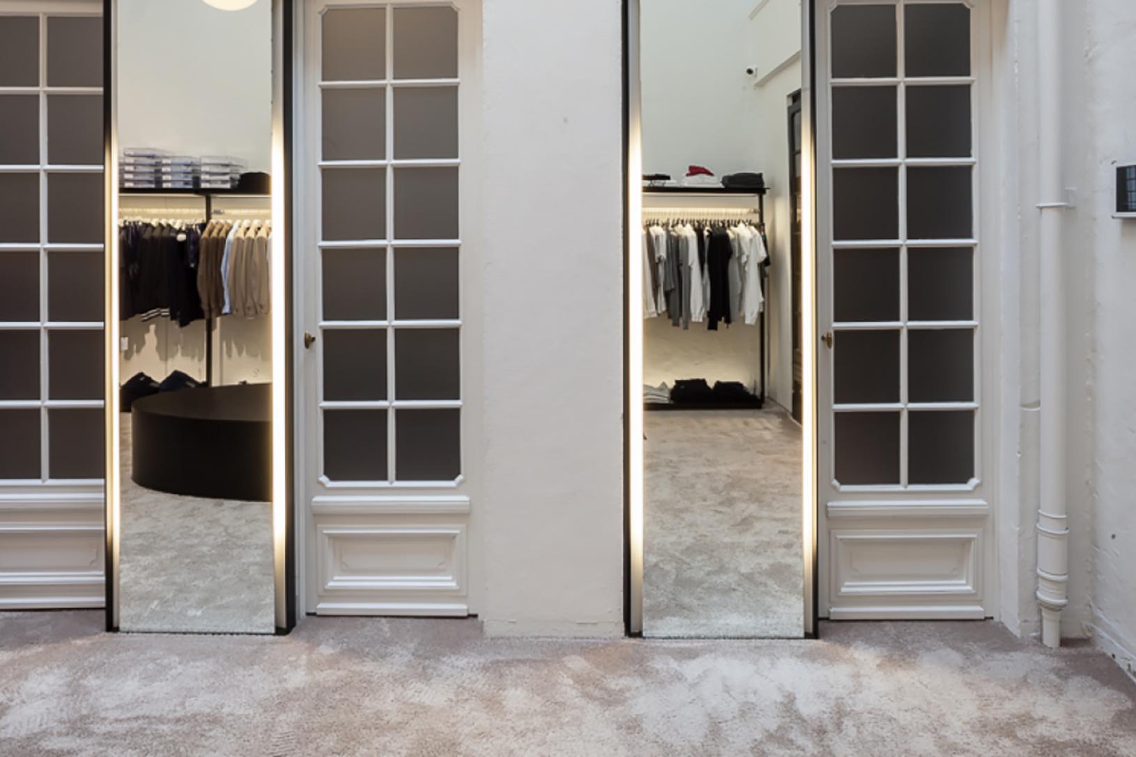 Interieurvormgeving Vantornout schrijnwerk - showroom - winkel - schrijnwerk